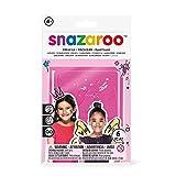 Snazaroo - Plantillas de Pintura Facial para niñas, Fantasía, Multicolor, Una Talla