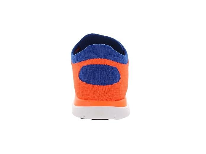 Nike Schuhe Free Flyknit 4.0 631053 400 orange blau, Größe