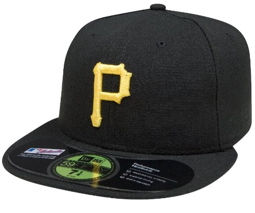MLB Pittsburgh Pirates Game AC On Field 59Fifty Fitted Cap-712