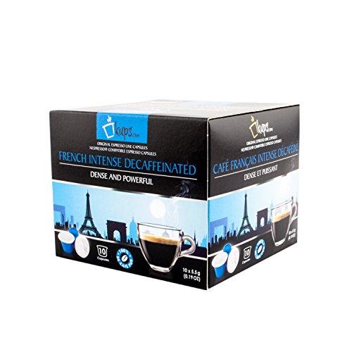 120 French Intenso Decaffeinato – Nespresso Compatible