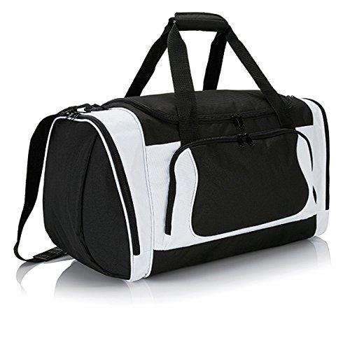 XD-Borsone da Sport, grande formato, Ultimate, 46 cm, 42 L, colore: bianco