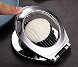 Egg Cutter,Stainless Steel Wire Egg Slicer,A Great Egg Cutter For Hard Boiled Eggs.