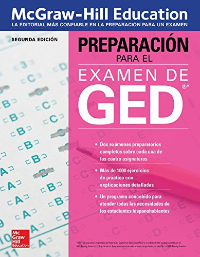 Preparacin para el Examen de GED, Segunda edicion (Spanish Edition)