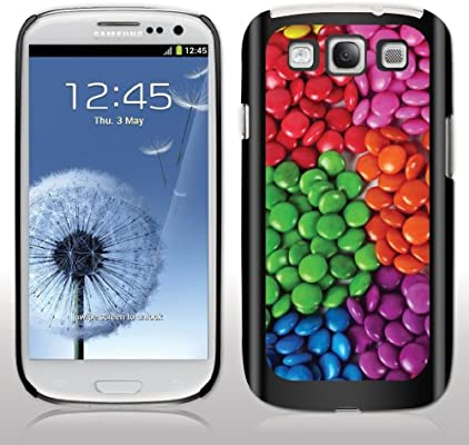 buy online 8a6ef 2b925 M&M's Samsung Galaxy s3 Black Phone Case - Black Protective Hard Case
