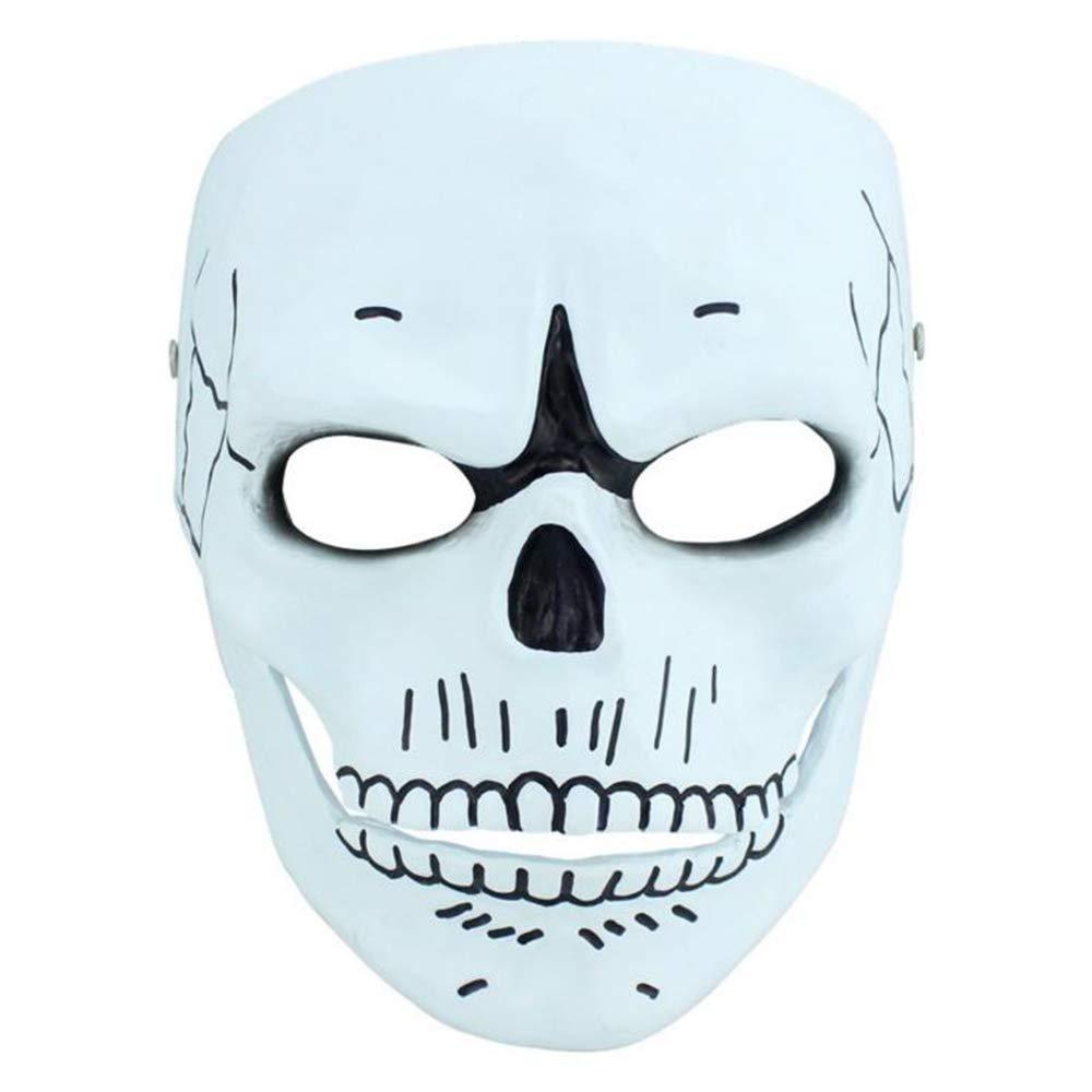 BHXUD Halloween Ghost Maske Collector Es Edition Theme Maske Cosplay Requisiten Harz Maske