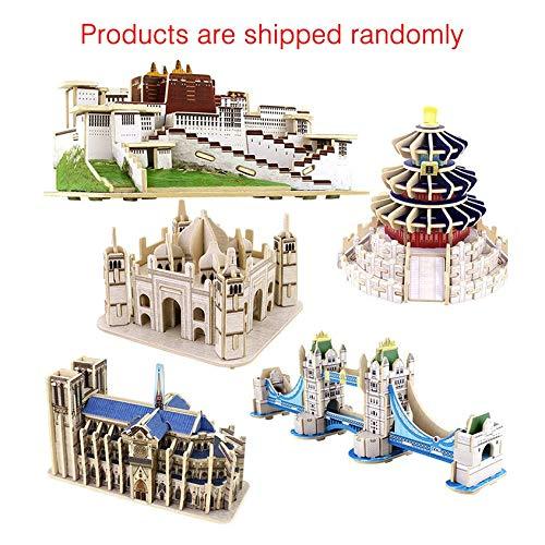Florenceenid 教育玩具 3D木製パズル 有名ビルディングパズル ビルディングモデル 3D木製パズル Florenceenid 教育玩具 B07MXXK419, サワラシ:35c9dd6c --- m2cweb.com