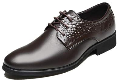 AHUQI Autumn - Zapatos de Vestir para Hombre: Amazon.es ...