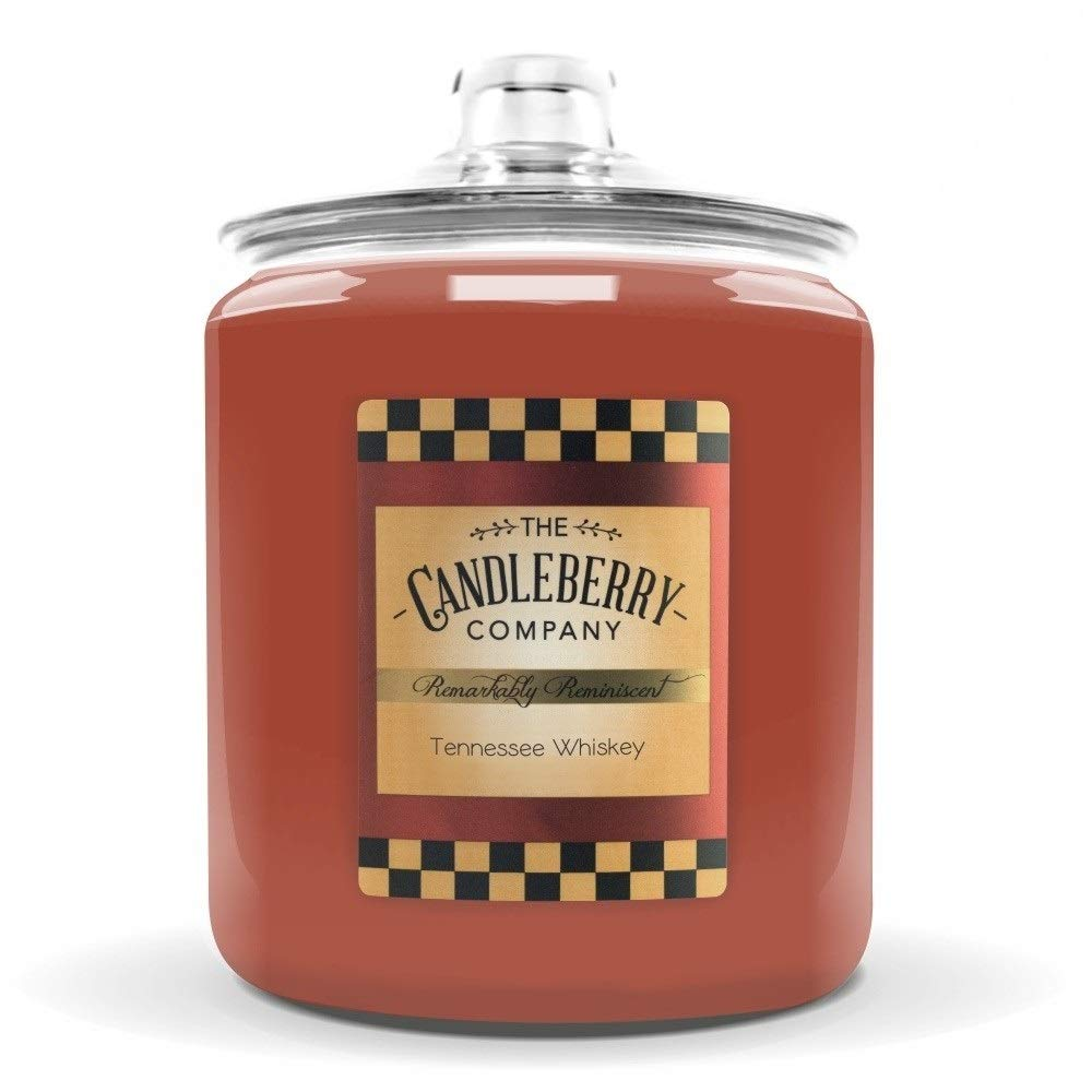 Candleberry Tennessee Whiskey 160 oz Candle - Giant Cookie Jar Candle by Candleberry (Image #1)