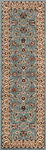 light blue carpet runner - 6