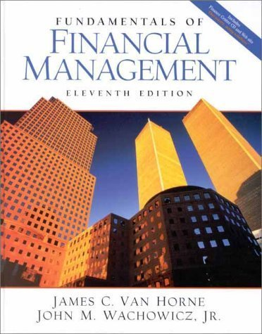 Fundamentals of Financial Management 11th Edition