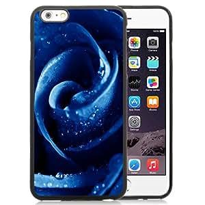 NEW DIY Unique Designed iPhone 6 Plus 5.5 Inch Generation Phone Case For Blue Rose Phone Case Cover