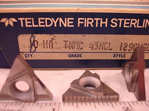 Teledyne - Tnmc 45Ngl Ha Teledyne Carbide Grooving Inserts (8Pcs) New&Original
