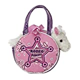 "White Horse Rodeo Princess Fancy Pals Purse 8"" Animal"