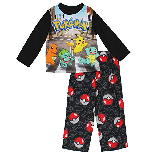 Pokemon Boys 2-piece Pikachu Pokeball Tee Set (Size 8) - 1