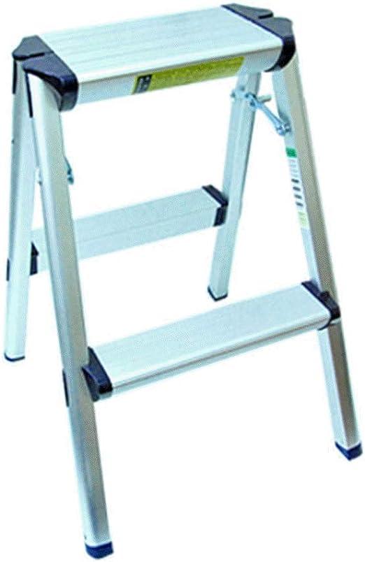 Hane Mini Taburete Plegable portátil de Aluminio de 2 peldaños, Escalera de Escalera Segura, Duradera: Amazon.es: Juguetes y juegos