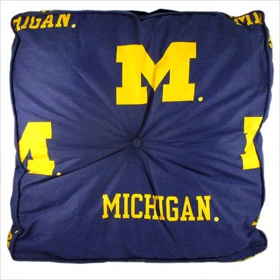 College Covers Michigan Wolverines Floor (College Floor Pillows)