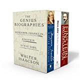 img - for Walter Isaacson: The Genius Biographies: Benjamin Franklin, Einstein, and Steve Jobs book / textbook / text book