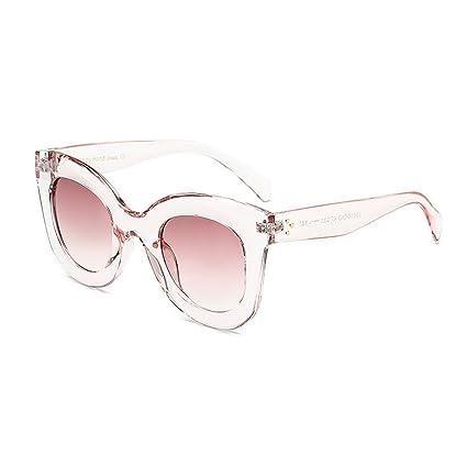 Joo Elegantes gafas de sol grandes para mujer Animal Print ...
