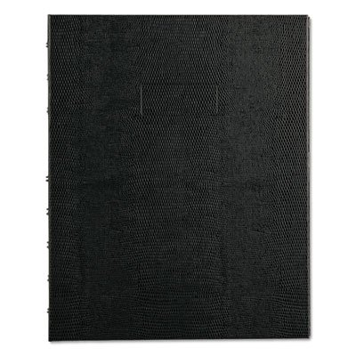 NotePro Notebook, 7 1/4 x 9 1/4, White Paper, Black Cover, 75 Ruled Sheets, Sold as 2 Each Notepro Notebook