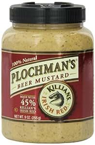 Plochman's Beer Mustard with Killian's, 9-Ounce Jars (Pack of 12)
