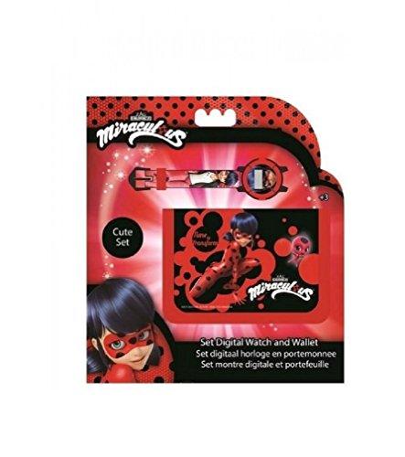 - Ladybug Digital Watch & Wallet ,Children Watch,Kids Watch,Official Licensed.