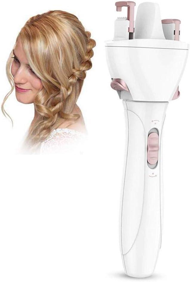 Máquina de trenzado de cabello Máquina de equipo de equipo de flor de marihuana eléctrico de cabeza giratoria automática rápida Cabezal de torsión para el cabello para damas y niños