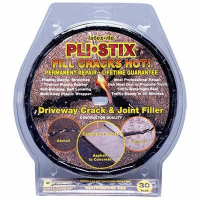 Dalton Enterprises 35099 PLI-STIX 30 Ft. Asphalt and Concrete Crack Filler...