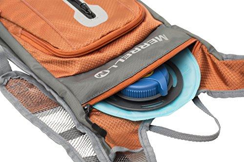 Merrell Luton hydration Backpack, Burnt Orange, One Size