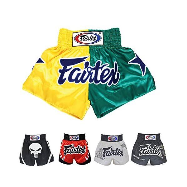 Fairtex Muay Thai Boxing Shorts Size: S M L XL - shorts for Kick Boxing MMA K1 1