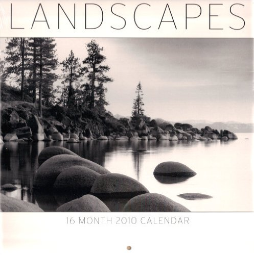 2010 Landscapes 16 Month Calendar