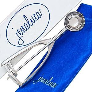 Jenaluca Cookie Scoop - Mini Cupcake Scoop - 18/8 Stainless Steel - Medium
