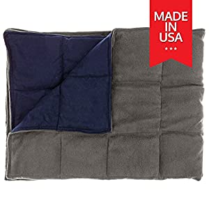 Premuim Weighted Blanket for Kids By InYard, 7 lbs, 56