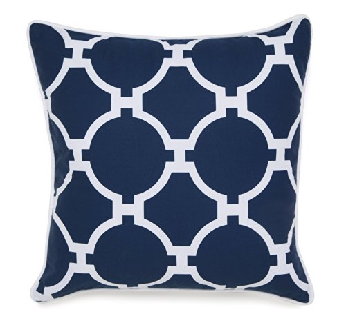 Jill Rosenwald Copley Hampton Links Embroidered Pillow (Hampton Pillows)