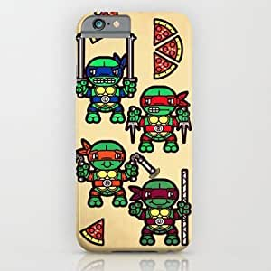 diy zheng - Teenage Mutant Ninja Turtles Pizza Party iphone 5c Case by Chobopop