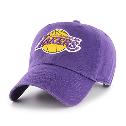 NBA Los Angeles Lakers OTS Challenger Adjustable Hat, Purple, One Size ()