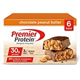 Health & Personal Care : Premier Protein Nutrition Bar, Chocolate Peanut Butter, 30g Protein, 2.53 Ounce Bars (6 count in 1 Box)
