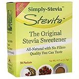 Stevita Sweetener, Pure Stevia Extract, 50 Count