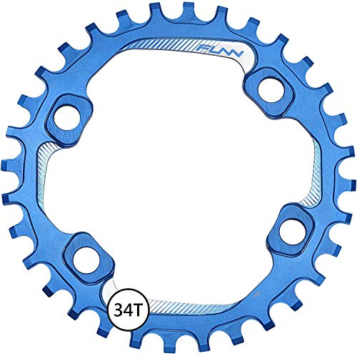 Funn Solo Narrow Wide Chain Ring, BCD 96mm Asymmetric