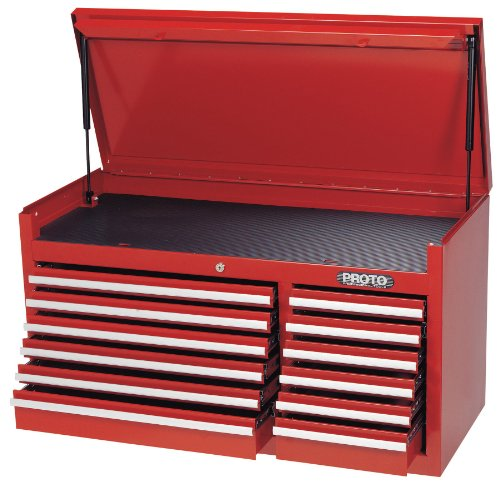 Stanley-Proto J444119-12RD 440SS 41-Inch Top Chest, 12 Drawer, Red