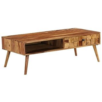 Couleur Scandi Cm 120x60x42 Table Bois 120x60 Basse Naturel mnwN8v0Oy