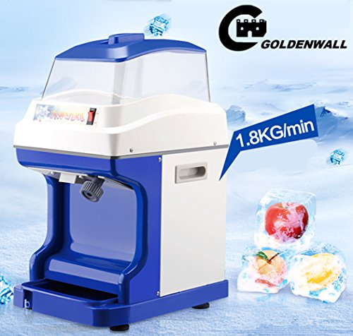 WF-B188 large capacity Ice machine Commercial high power snow sand ice machine Crushed ice machine Ice Crushers shaver machine 1.8kg / min by CGOLDENWALL