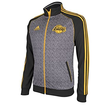 Adidas Los Angeles Lakers 2012 NBA Static Performance Jacket Chaqueta