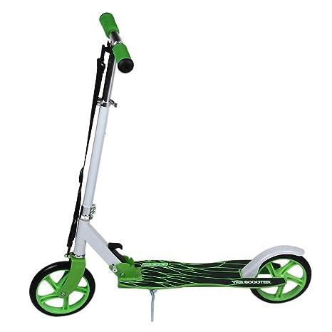 Patinete Plegable Scooter Patinete de aleación de aluminio ...