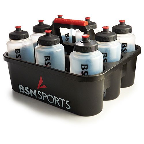 BSN Bottle Carrier with 8 Qt Bottles by BSN Sports