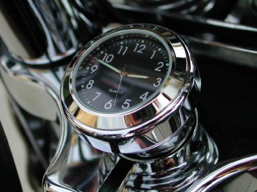 Stem Nut Mount Clock - Motorcycle Clock for all Harley Springer models