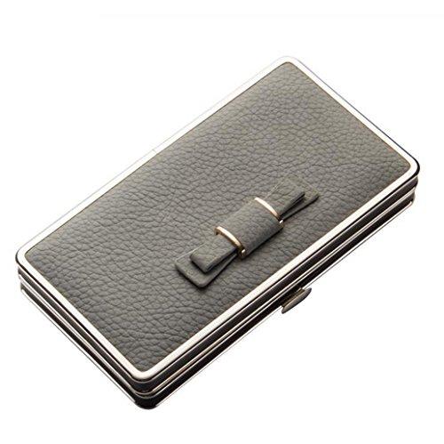 Damen Leder Geldbörsen Taschen Damen Portemonnaie Damen Geldbeutel Damenhandtasche,Brieftasche Kreditkartenetui Wallet,RFID-Diebstahlschutzmappe. Abschirmmaterial auswählen E
