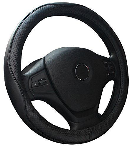Genuine Leather Sterring Wheel Cover