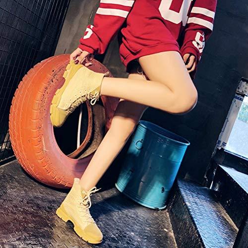 aide La Occasionnelles Chaussures Ladies' Fashion Haute B Sneakers Étudiant De Fond Plat wXTqWqgU