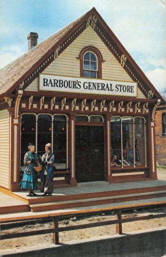 St John New Brunswick Canada Old Country Store Vintage Postcard - Stores Brunswick New