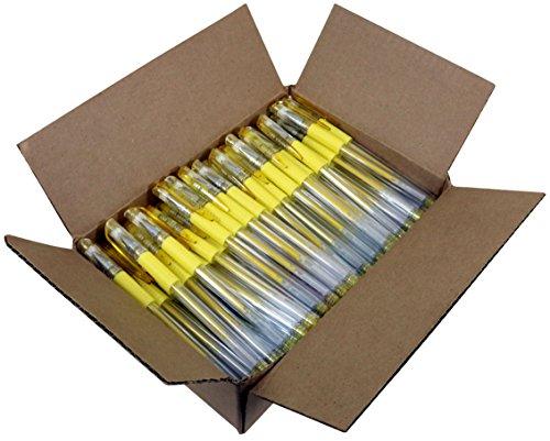 Sargent Art 100 Yellow Glitter Gel Pen Bulk Pack, Drawing by Sargent Art
